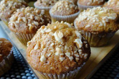 Muffins de almendras e higos