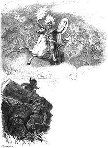 Surt er i nordisk mytologi hersker over Muspelheim og ildjætterne. Han siges at have et sværd, der brænder, og hvis flammer skinner mere end solen. Til ragnarok vil han føre sit folk (Muspelfolket) over Bifrost, som derved bryder sammen. I Asgård vil han kæmpe mod Frej og dræbe ham, og efter gudernes fald står Surt alene tilbage. Han vil da støde sit sværd i jorden og sætte den i brand.