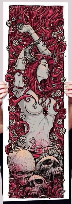 The Geeky Nerfherder: Cool Art: 'Demonseed' by Godmachine