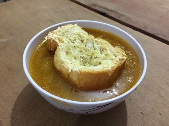 Garfo Publicitário   Blog de Gastronomia e Culinária: Sopa Francesa de Cebola