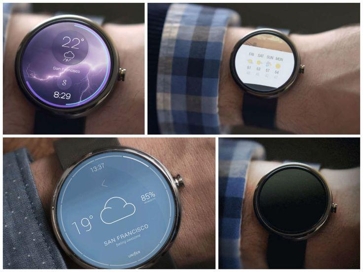 Tegoroczne #GoogleIO dostarczyło Nam również informacje o gadżecie na miarę 21 wieku zwanego #SmartWatch z serii #Android Wear. Kompatybilność ze smartfonem pozwala użytkownikowi zarządzać informacjami w telefonie z poziomu zegarka, oczywiście w ograniczonym stopniu. Ciekawi? Więcej informacji na http://www.android.com/wear/  (zdjęcie http://www.designspawn.com/)