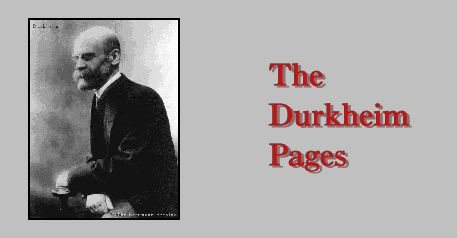 "durkheim and social fact essay Emile durkheim's ""the rules of sociological method"" posits the existence of various 'social facts' which, according to him, should be the scope of all."