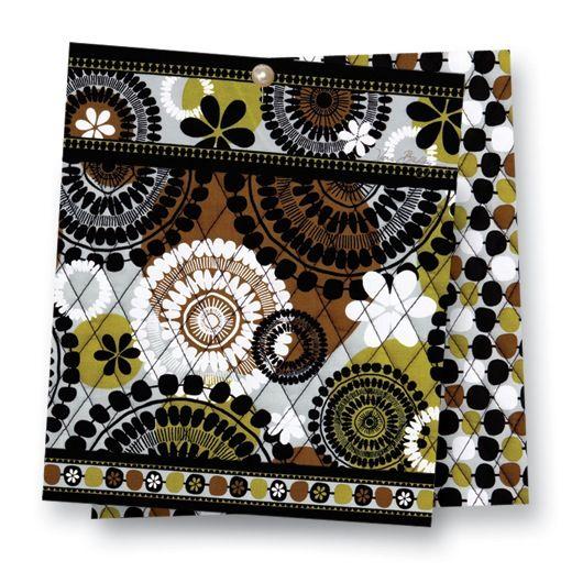Fall 2013 Vera Bradley- Got this print Cocoa Moss for my birthday.  Love it!