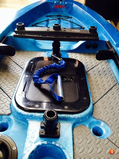 Kayak Fishing Forum :: Topic: Ascend FS12T transducer install? (1/2)