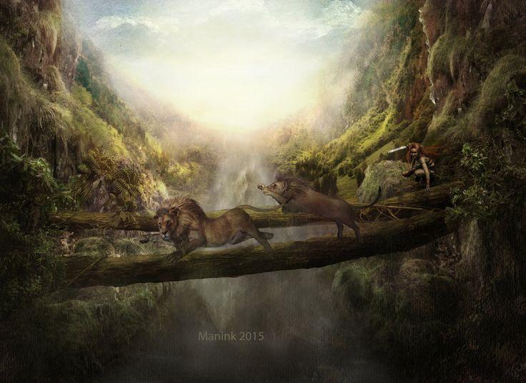 The Hunting by Manink.deviantart.com on @DeviantArt