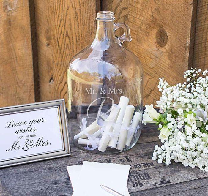 ▷ 1001 + ideas fantásticas para la boda del libro de visitas