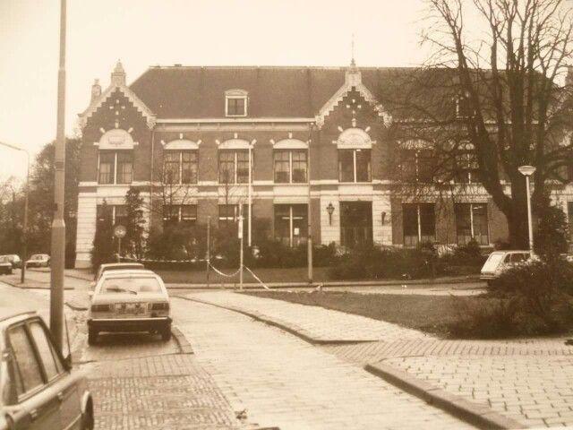 Deventer, oude St. Geertruidenziekenhuis aan de Singel