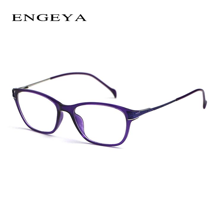2016 Fashion TR90 Ultralight Eye Glasses Frames For Women Brand Optical Eyewear Myopia Computer Glasses Frame 5 Colors #2049#