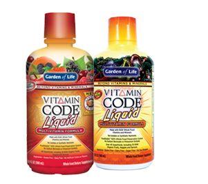 Vitamin Code<sup>®</sup> Liquid Multivitamin