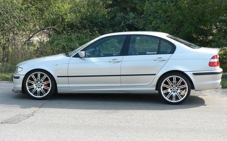 White BMW 320D E46