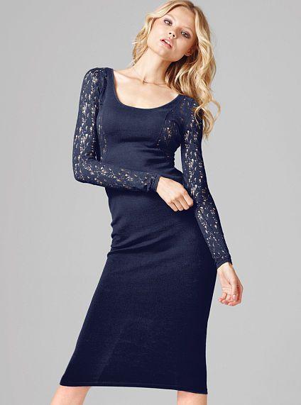 Open-Back Burnout Dress