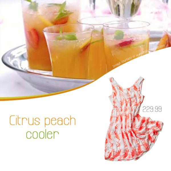 ... forward citrus peach cooler # summerdrink citrus peach cooler see more