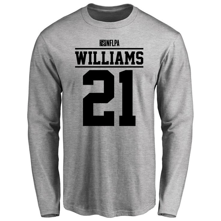 Teddy Williams Player Issued Long Sleeve T-Shirt - Ash