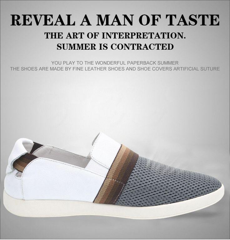 Внешняя торговля оригинальный сингл мужская повседневная обувь мужчин воздухопроницаемой летняя мода кожаные ботинки британских прилива обувь обувь корейский - Taobao