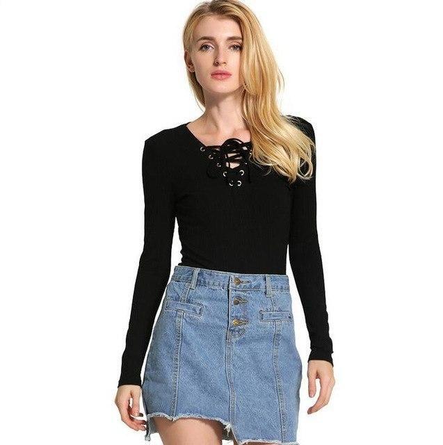 Office Women Bottoming Shirt Casual Cotton Blouse Shirt Slim Blouse Plus Size Tops Blue Pink Black Long Sleeve S318 Black L 1