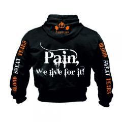 PAIN WE LIVE FOR IT! (SW-167) Sveriges största utbud av träningskläder och gymkläder på nätet. www.bigsamab.se  #Imperioo #Imperioosports #bigsamab.se #träningskläder #gymkläder #motivation