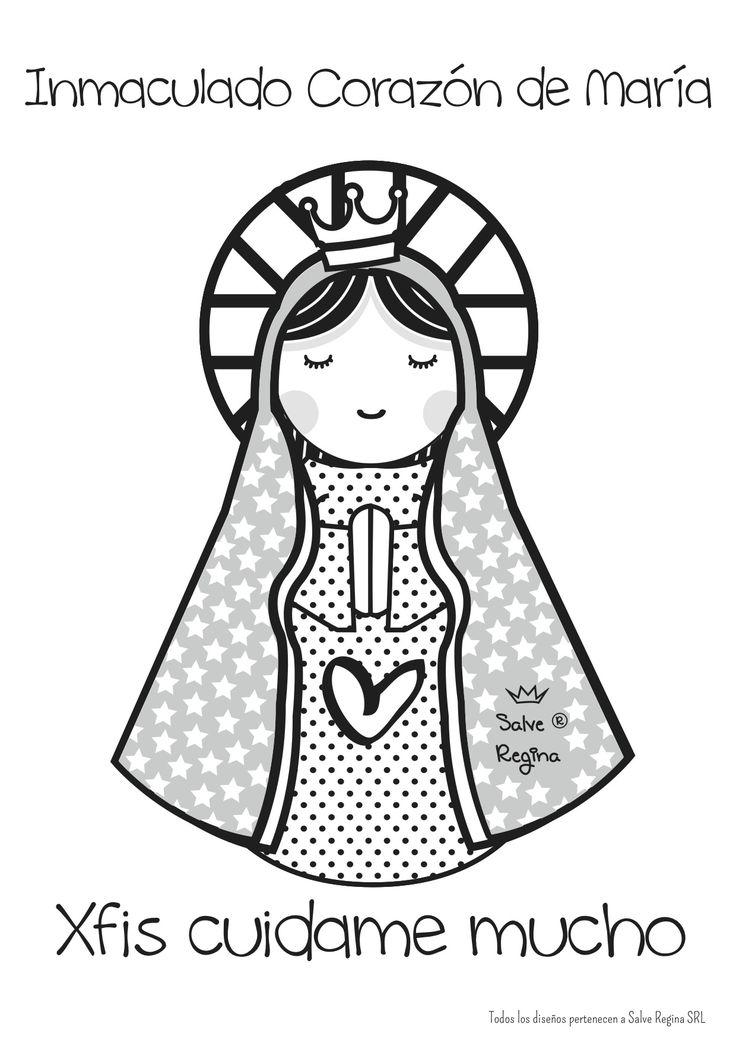 Inmaculado corazón de María.