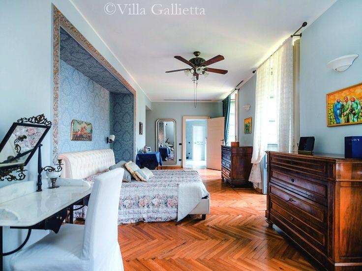 Master Bedroom - Villa Gallietta | Como #lakecomoville