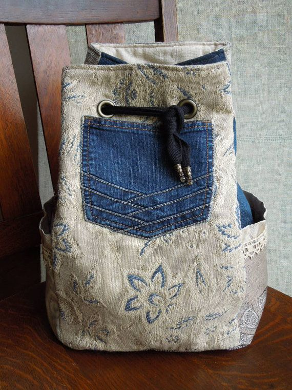 Einfach einzigartiger Rucksack benutzerdefinierte entworfen und von mir mit hochwertigen Materialien handgefertigt. Ich habe dieses ein The Gypsy Bag genannt, da es ist perfekt gewartet haben, alles, was Sie für welche Abenteuer Sie geplant haben. Es gibt 3 Außentaschen, um Elemente organisiert & zugänglich zu halten; 2 extra große Taschen an den Seiten für Ihr Handy, Schlüssel, Wasser, sogar Ihren Kindle oder andere 7-Tablet und eine niedliche Upcycled Jean Tasche auf der Vorderseite für...
