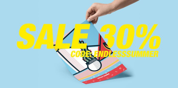 New shop design for our Tictail page plus 30% off only for this platform users. The code is valid for all of our products-designs. So add: ENDLESSSUMMER during checkout. Visit our e-shop and keep g… #sales #popart #summer
