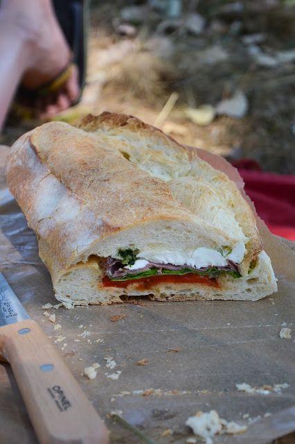 Chic, chic, chocolat...: Pain garni sandwich pour les pique-niques