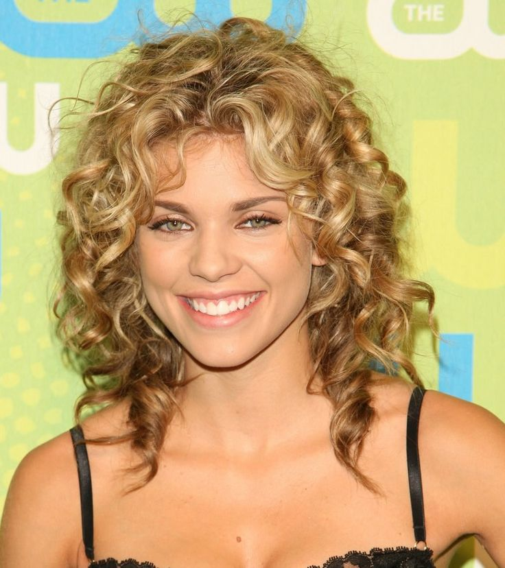 Curly Hairstyle 21 Best Face Framing Curls Images On Pinterest  Hair Cut Hair Dos
