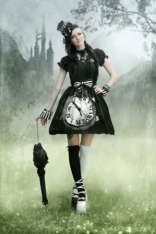 Gothic and Amazing except the shoes don't work for me