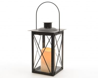 Lanterna LED  Black Antique i gruppen EN SAGOLIK JUL / Jul i Järn och Koppar hos Celebrations.se (482418)