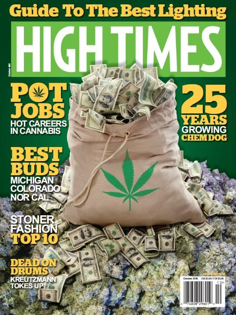 High Times PDF MaGaZiNe October 2016 medical marijuana cannabis PDF