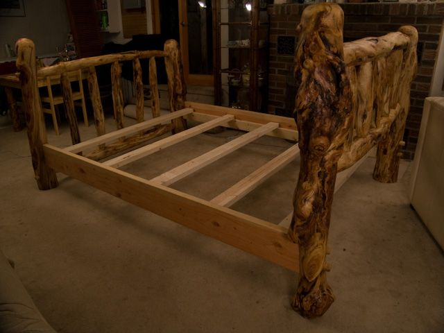 20 Best Beds Headboards Images On Pinterest: 20 Best Images About Log Bed Frames On Pinterest