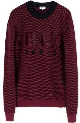 KENZO Crewneck sweater - Shop for women's Sweater - Maroon Sweater