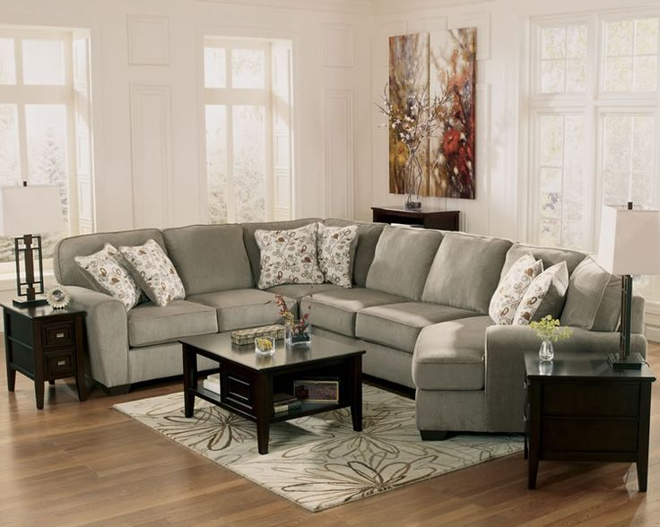 Chicago Furniture Sectional with Cuddler Seat
