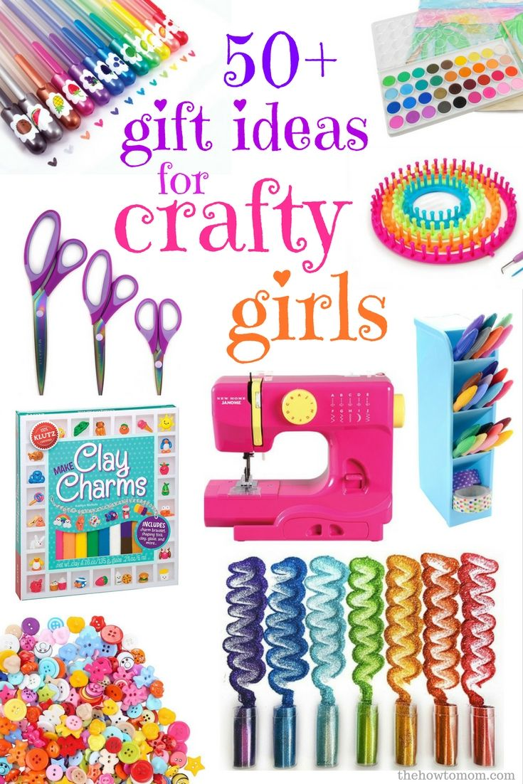 50 Awesome Gift Ideas For Crafty Girls Christmas Gifts For