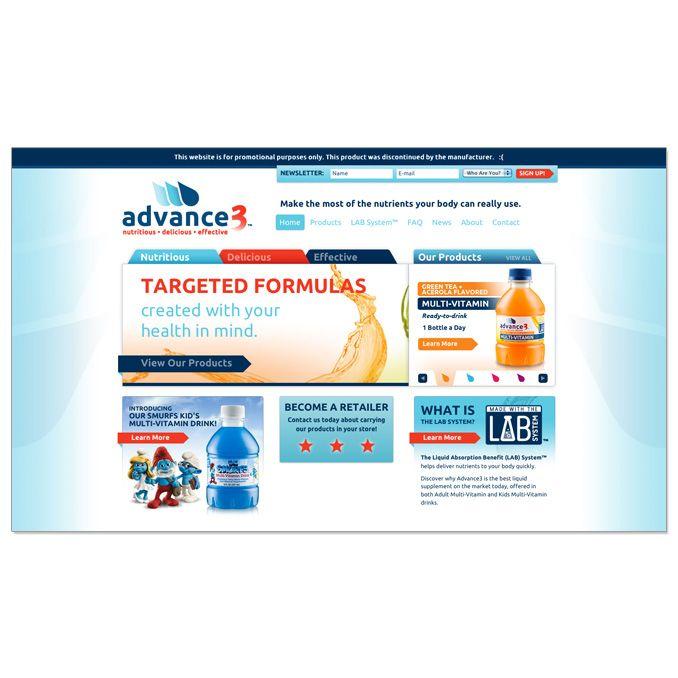 Advance3 Liquid Vitamin Internet Marketing - Yoj Creative