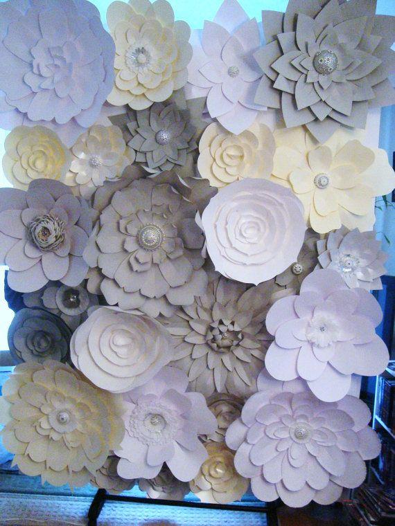 Diy Wall Flowers: 1000+ Ideas About Paper Flower Wall On Pinterest