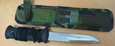 UTON - armádní nůž - cvilní verze - UTON - armádní nůž - cvilní verze Materiál čepele: nerezová ocel 420 - 55HRC Materiál střenky: plast Délka výrobku: 250 mm Délka čepele: 140 mm Šířka čepele: 24 mm Hmotnost výrobku: 244 g Pouzdro: včetně PE pouzdrahttps://s3.eu-central-1.amazonaws.com/data.huntingbazar.com/5222-uton-armadni-nuz-cvilni-verze-pouzdra-na-zbrane.jpg