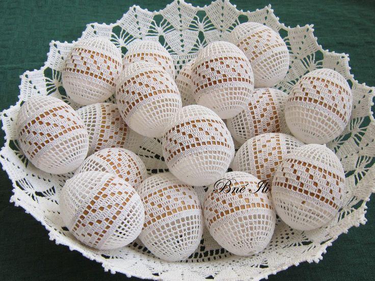crochet knit unlimited: Easter 2015  .... PL. JAJE SA TRKOM ISPOD U BOJI PRIRODNOG JAJETA  .....   !!!!!!