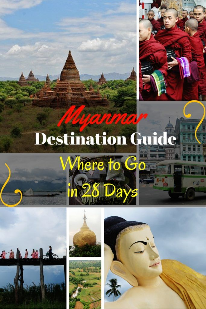 Take full advantage of the 28 day visa & travel overland in Myanmar. Our itinerary will take you to the top 12 destinations in the Land of the Golden Pagoda!