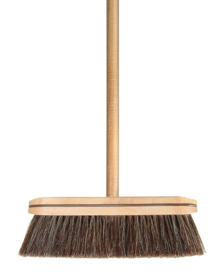 Amazon Com Wood Horse Hair Broom 186 Push Brooms