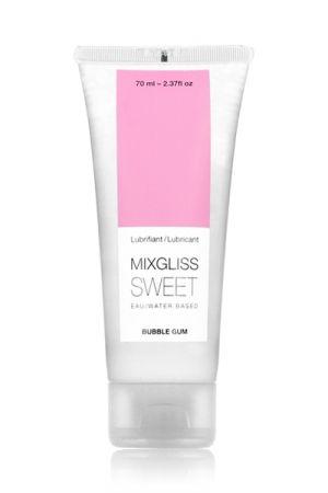 Lubrifiant Mixgliss Sweet Parfumé au Bubble Gum 70 ml