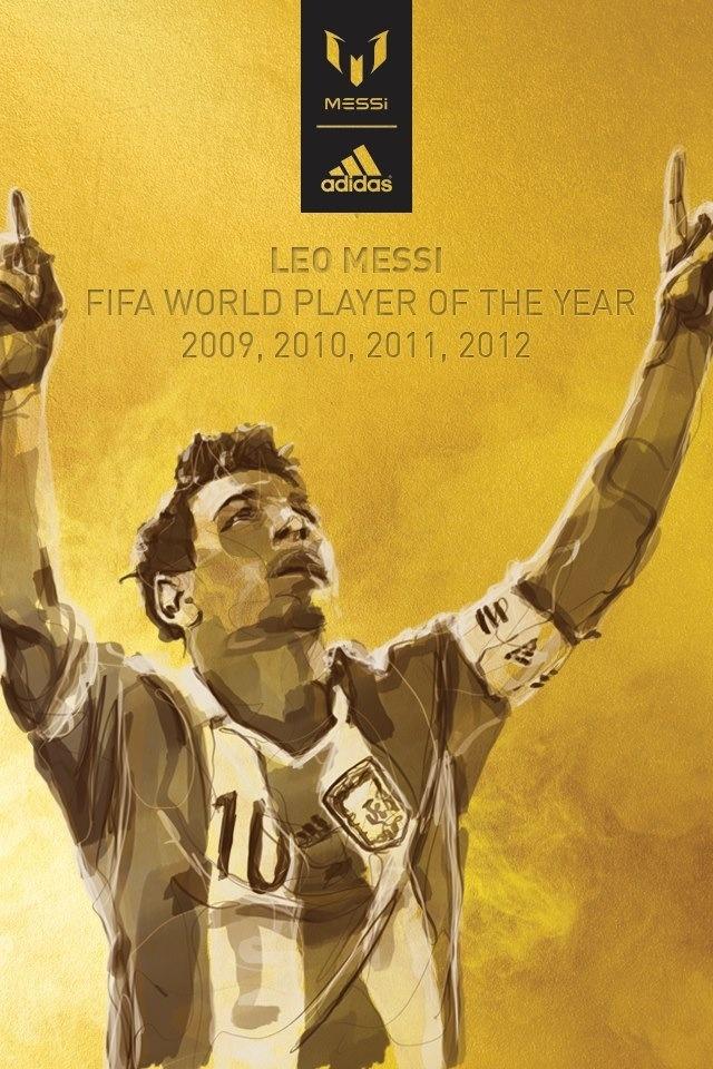 Leo Messi, FIFA World Player dels anys 2009, 2010, 2011 i 2012