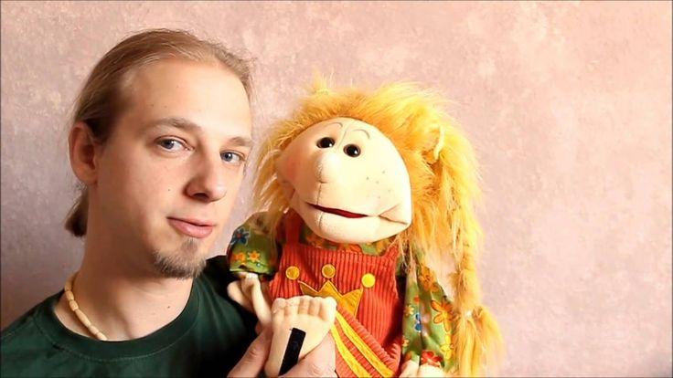 Handpuppen unter der Lupe - Kleine Jenny von Living-Puppets