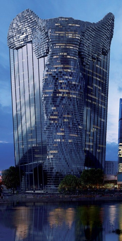 Nike of Samothrace Tower Concept Design by Vasily Klyukin - ☮k☮ #architecture