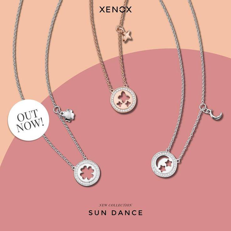 THE SYMBOLS OF THE SEASON  GLÜCKSKLEE :-) damit das Schicksal es immer gut mit dir meint. SCHMETTERLINGE  :-) für das schönste Gefühl im Bauch. MOND & STERNE :-) die dir himmlische Momente schenken.  Noch mehr magische Begleiter findest du bei deinem #XENOX Juwelier.
