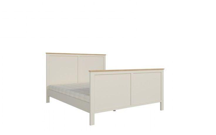 Florence 16 - Wspaniałe, wygodne, romantyczne łóżko o wymiarach 160x200 cm Duże i wygodne łóże z kolekcji FLORENCE doskonale sprawdzi się niemal w każdej sypialni, a zwłaszcza urządzonej w stylu klasycznym, angielskim i prowansalskim. Przepiękny design łóżka łączy w sobie gustowną formę z nowoczesnym minimalizmem i prostotą. Odcień mebla idealnie dopasuje się do wszelkich dodatków i detali, jakie wykorzystają Państwo przy kreowaniu wystroju swojej sypialni.
