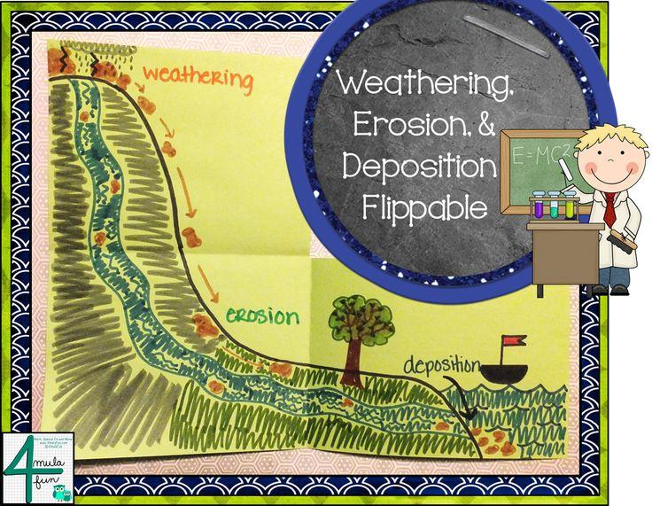 27 Best Weathering Erosion Deposition Images On Pinterest