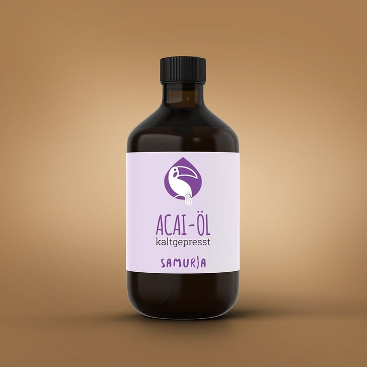 #ACAI_ÖL  INCI: Euterpe Oleracea (Acai) Fruit Oil Herkunft: Brasilien…