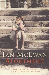 2001 Atonement is a 2001 novel by British author Ian McEwan. Lives and relationships are dramatically changed after a mistaken accusation by a youthful and innocent girl; with age she grasps her mistake and lives desiring atonement which leads her into an exploration of the nature of writing for this end.