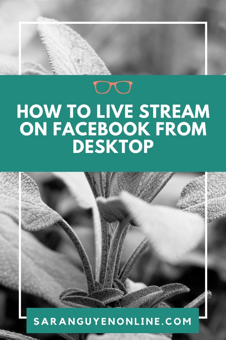 Learn how to live stream on Facebook from your desktop from your PC or Mac without software.  #facebooklive #facebook #facebookmarketing #socialmedia #socialmediatips #influencermarketing #socialmediamarketing #socialmediamarketingtips #socialmediatips #socialmediastrategy #socialmediastrategies #smallbusinessowner #smallbusiness #entrepreneur #bloggingtips