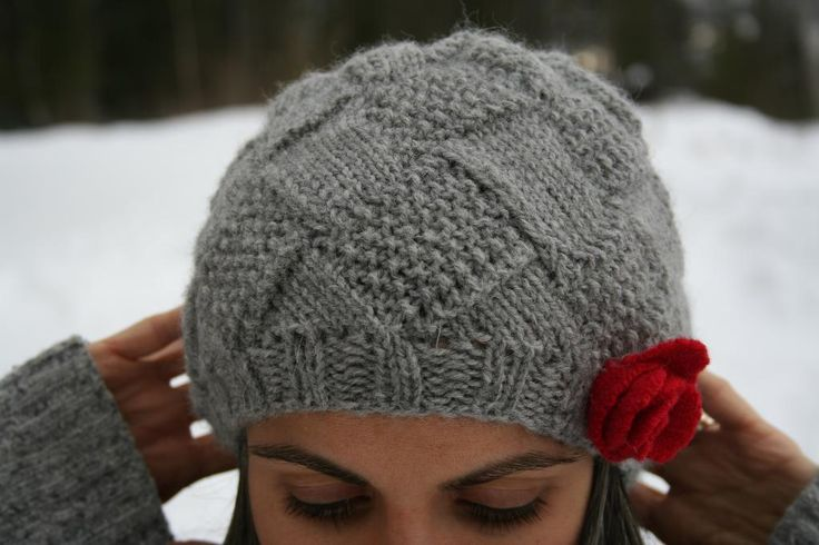 Knitting Pattern Books Hats : Entrelac Hat pattern on Craftsy KNITTING Pinterest E ...